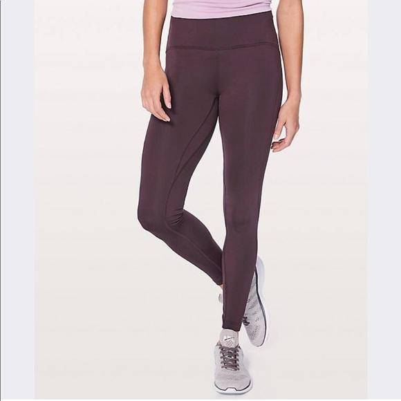 dd389b7f48185 lululemon athletica Pants | Lululemon Fast As Fleece Leggings | Poshmark